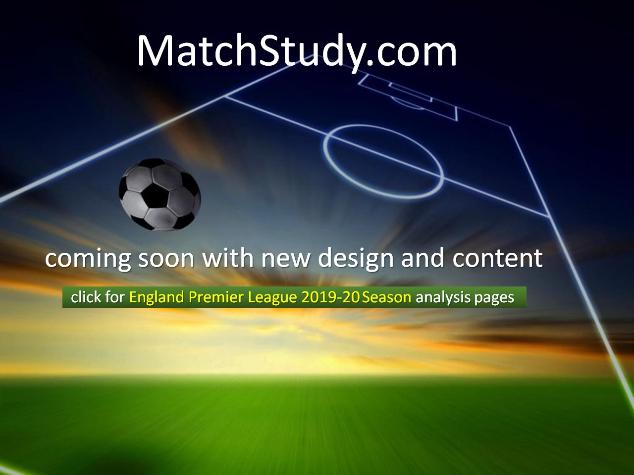 MatchStudy - Statistical Analysis Guide for Football Matches